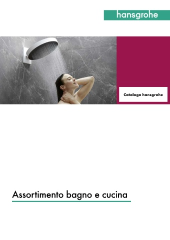 hansgrohe - sales book
