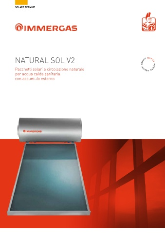 IMMERGAS - Natural Sol V2